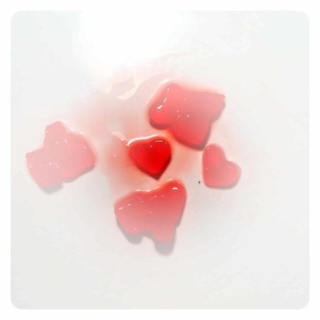 Strawberry Heart Jelly