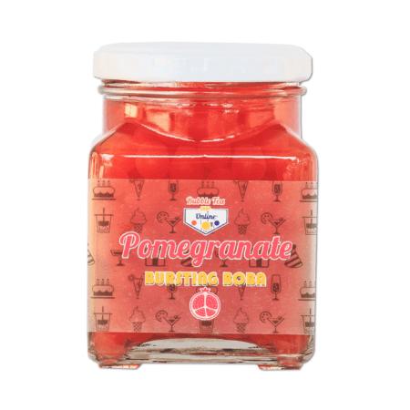 Pomegranate Bursting Boba