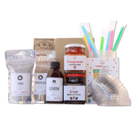 Fully Loaded Bubble Tea Kit (Makes 8)