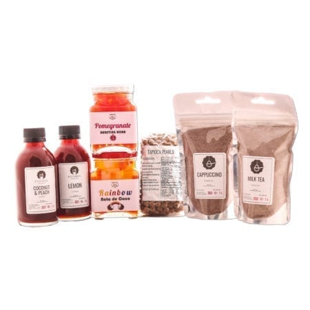 Fully Loaded Bubble Tea Kit (Makes 12)