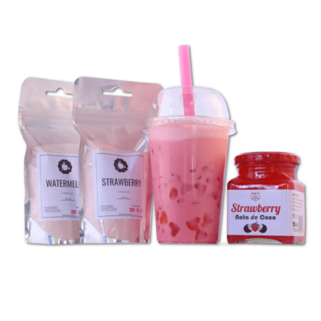 Pink Milk Bubble Tea Kit (Makes 4)