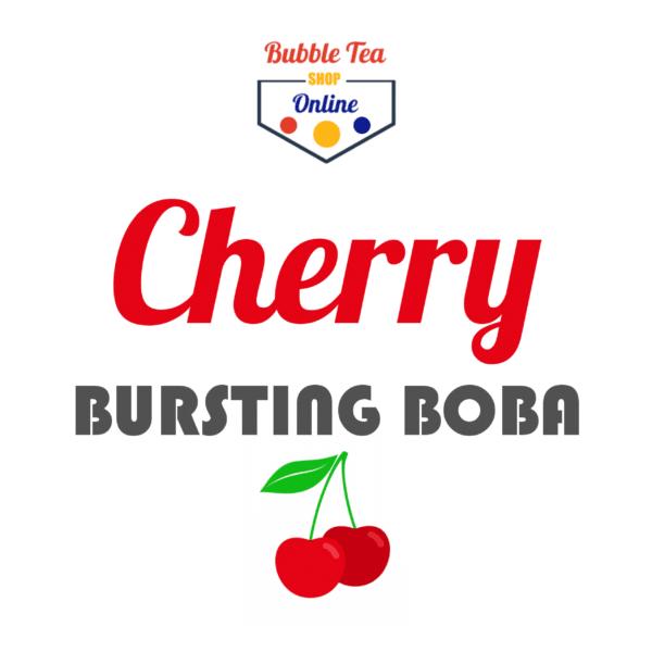 Cherry Bubble Tea
