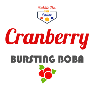 Cranberry Bubble Tea