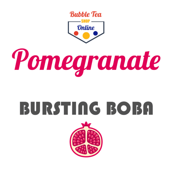 Pomegranate Bubble Tea
