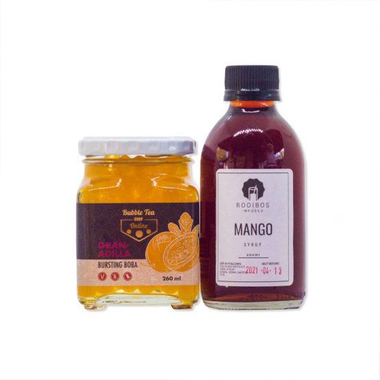 Passionate Mango Bubble Tea Combo Kit