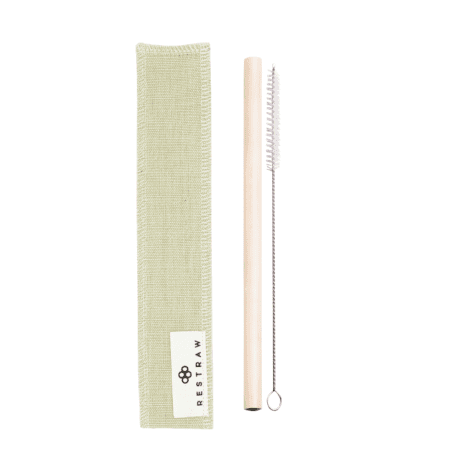 Bamboo Straw Set by RESTRAW