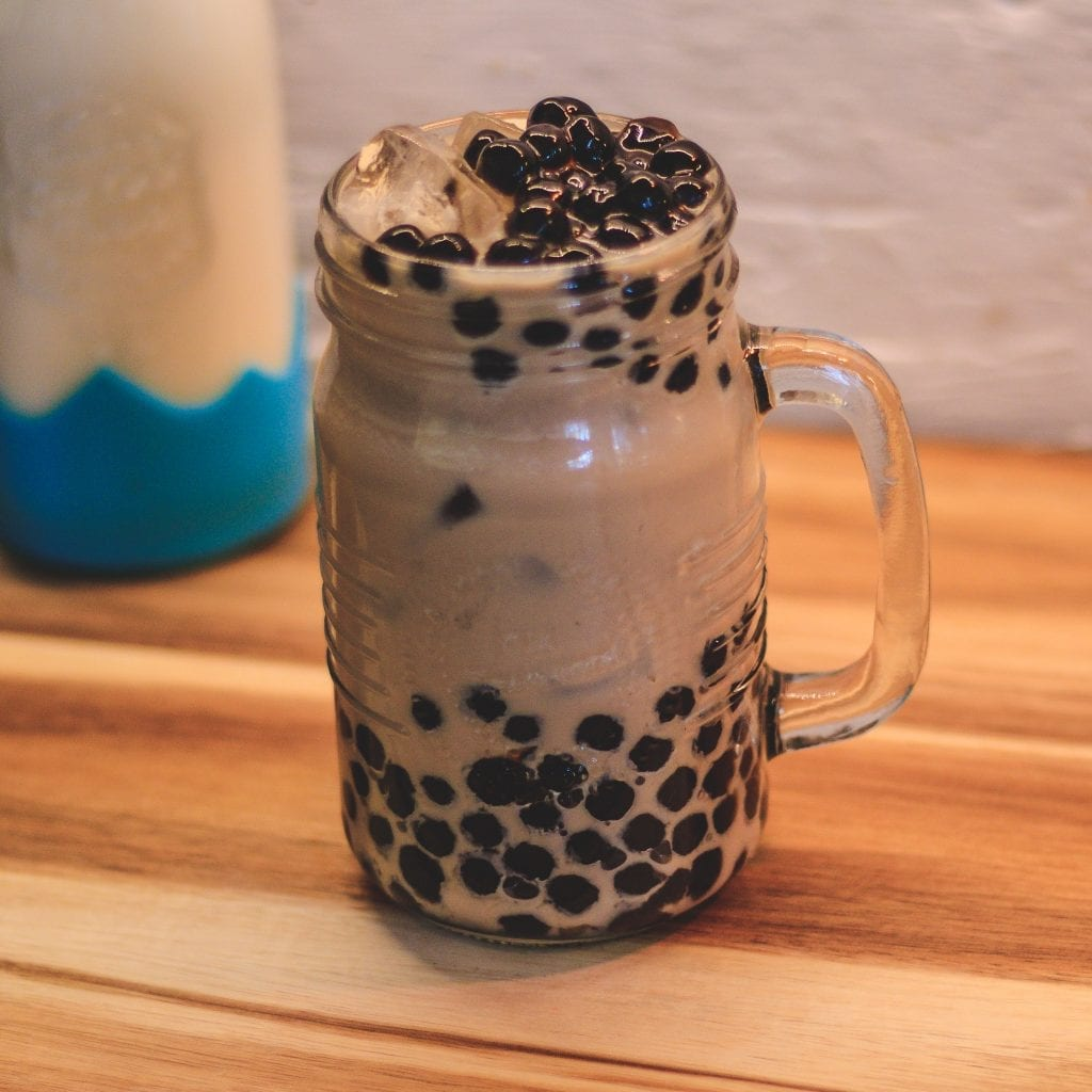 Traditional Milk Tea Boba