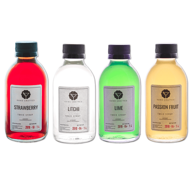 Full Collection of Tonic Syrups for G&T