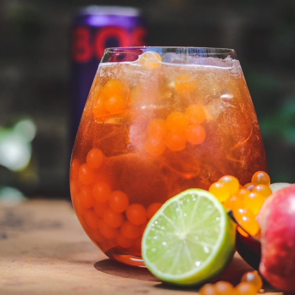 Iced Tea Can Summer Drink