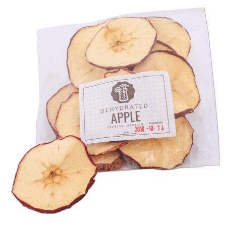 Apple Wheel Garnish