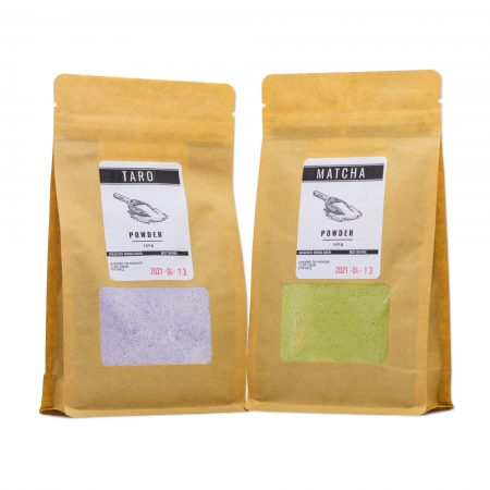 Taro and Matcha Powder: The Perfect Pair