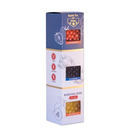 3 Boba Carton Gift Set
