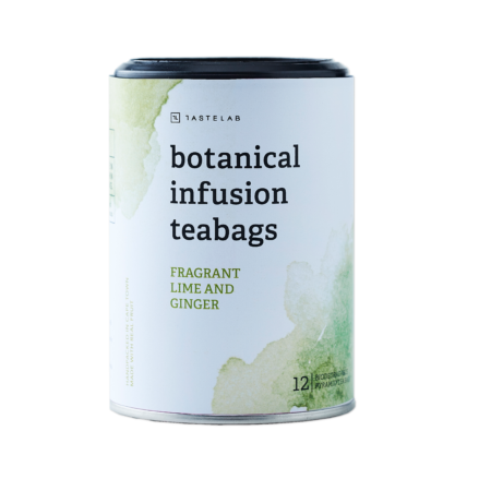 Fragrant Lime and Ginger Botanical Infusion Teabags