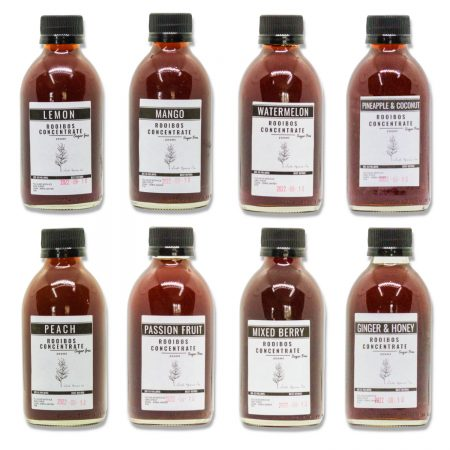 SUGAR FREE Rooibos Iced Tea Concentrate Full Collection