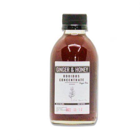 Ginger & Honey Rooibos SUGAR FREE Iced Tea Concentrate