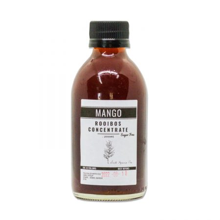 Mango Rooibos SUGAR FREE Iced Tea Concentrate